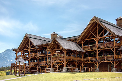 Lake Louise Ski Lodge, Alberta, Canada