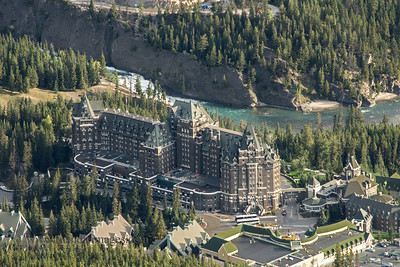 Fairmont Banff Springs Hotel, Alberta, Canada