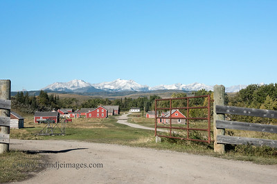 Bar U Ranch, Longview, Alberta, Canada