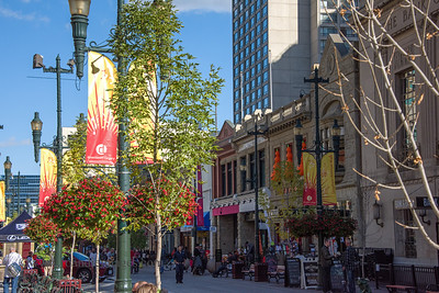 Stephen Avenue, Calgary, Alberta, Canada