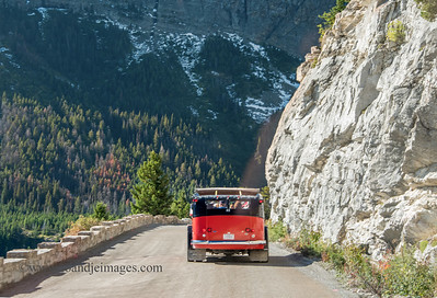 """Jammer""- ""Going-to-the-Sun-Road"", Glacier National Park, Montana"