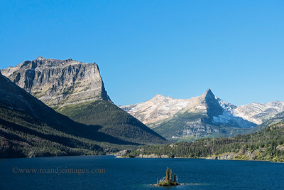Wild Goose Island, St Mary Lake, Glacier National Park, Montana