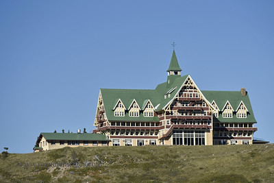 Prince of Wales Hotel, Waterton Lake, Alberta, Canada