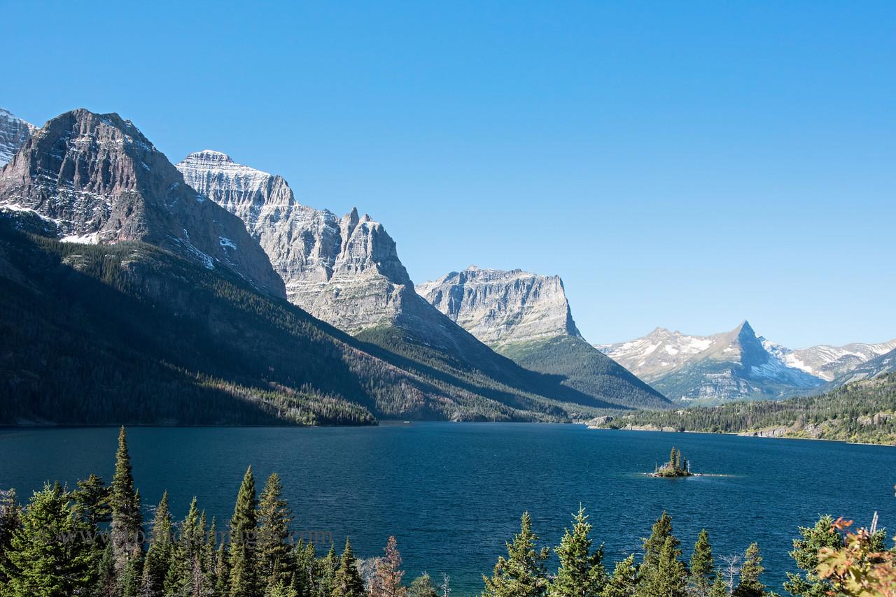 Wild Goose Island, St Mary Lake, Glacier National Park, Montana