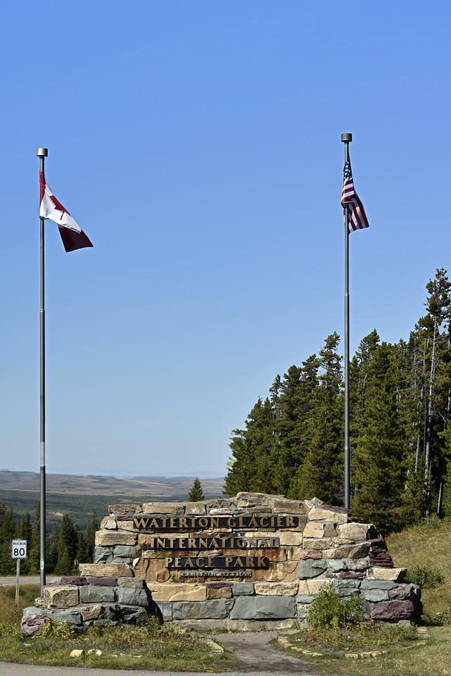 Waterton Glacier International Peace Park, Montana/Alberta