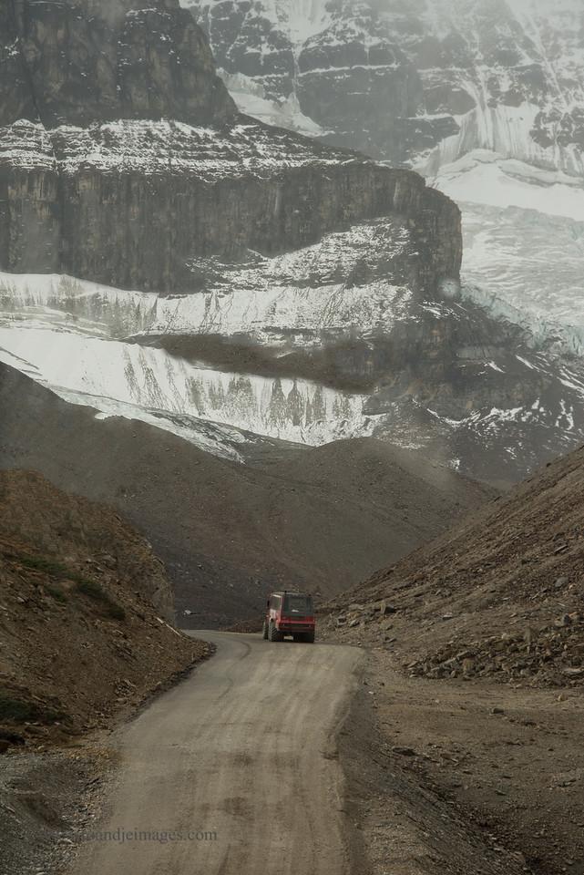 Columbia Icefield, Jasper Park, Alberta, Canada