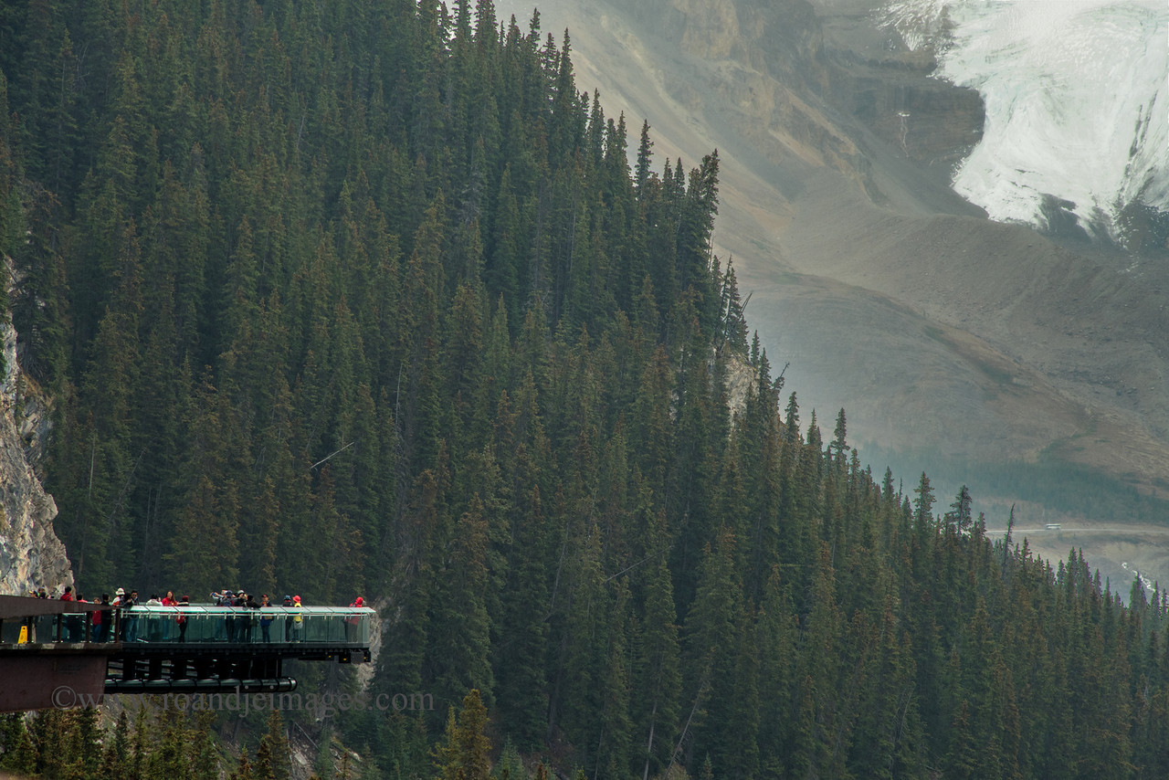 Glacier Skywalk, Sunwapta Valley, Jasper Park, Alberta, Canada