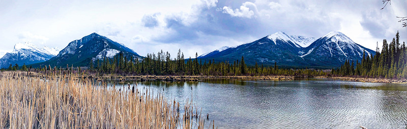 Vermilion Lakes Panoramic