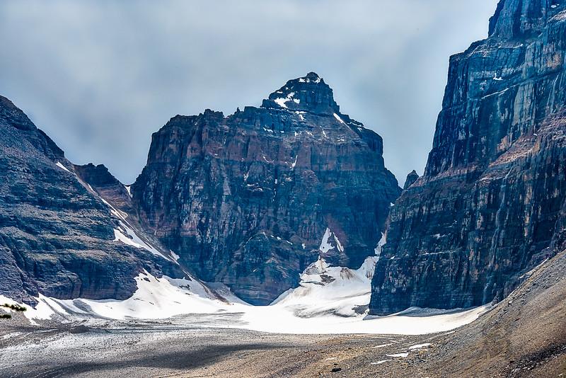 Mt Lefroy/Lefroy Glacier