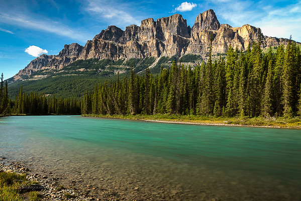 Castle Mountain/Bow River