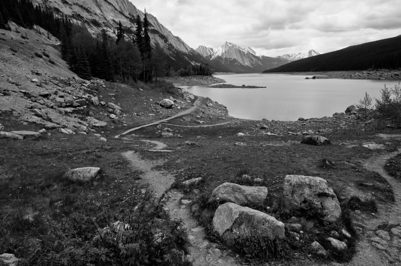 Medicine Lake - Jasper Nat'l Park