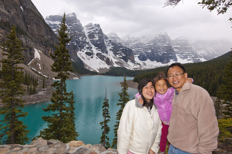 Moraine Lake - Banff Nat'l Park