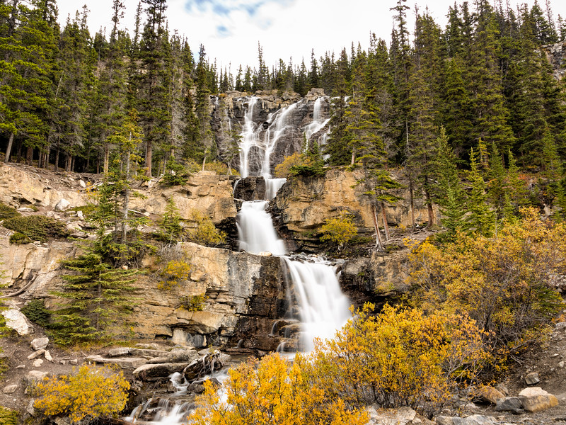 Tangle Falls 1, Jasper National Park, Alberta, Canada