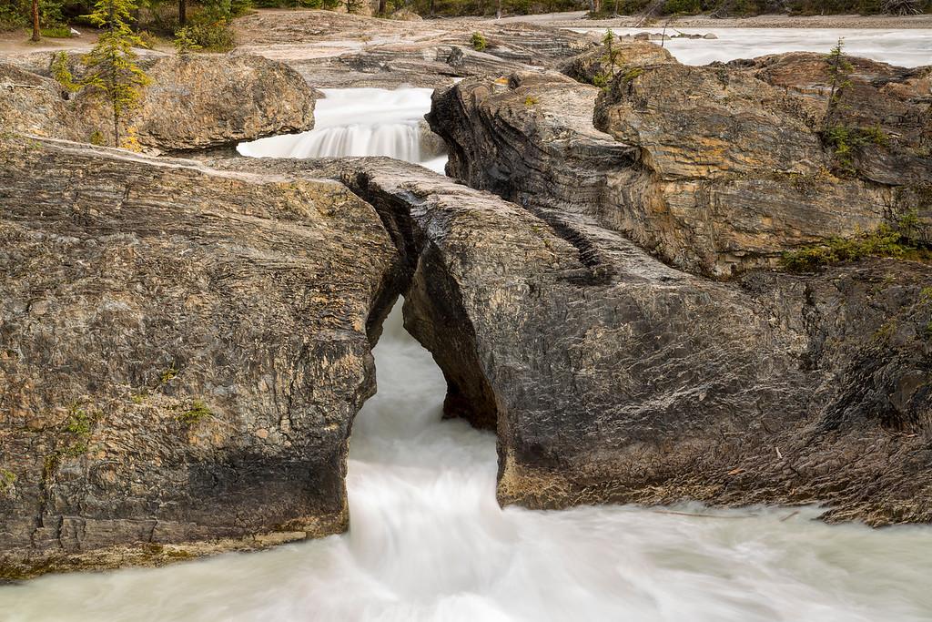 Kicking Horse River at Natural Bridge, Yoho National Park, British Columbia, Canada