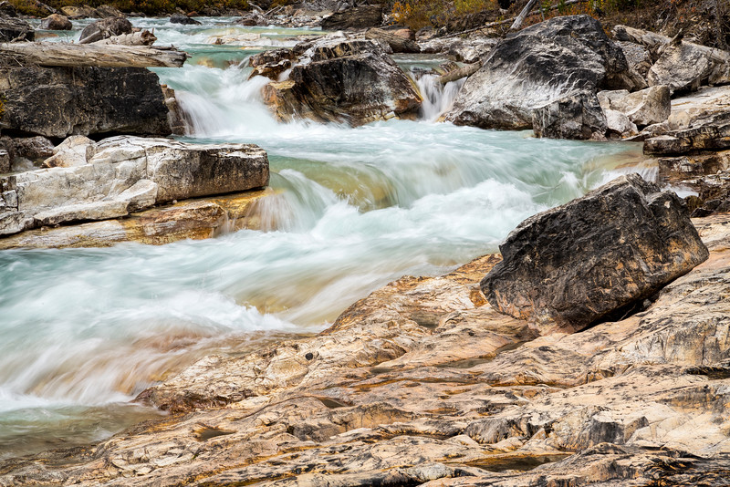 Tokumm Creek, Marble Canyon, Kootenay National Park, British Columbia, Canada