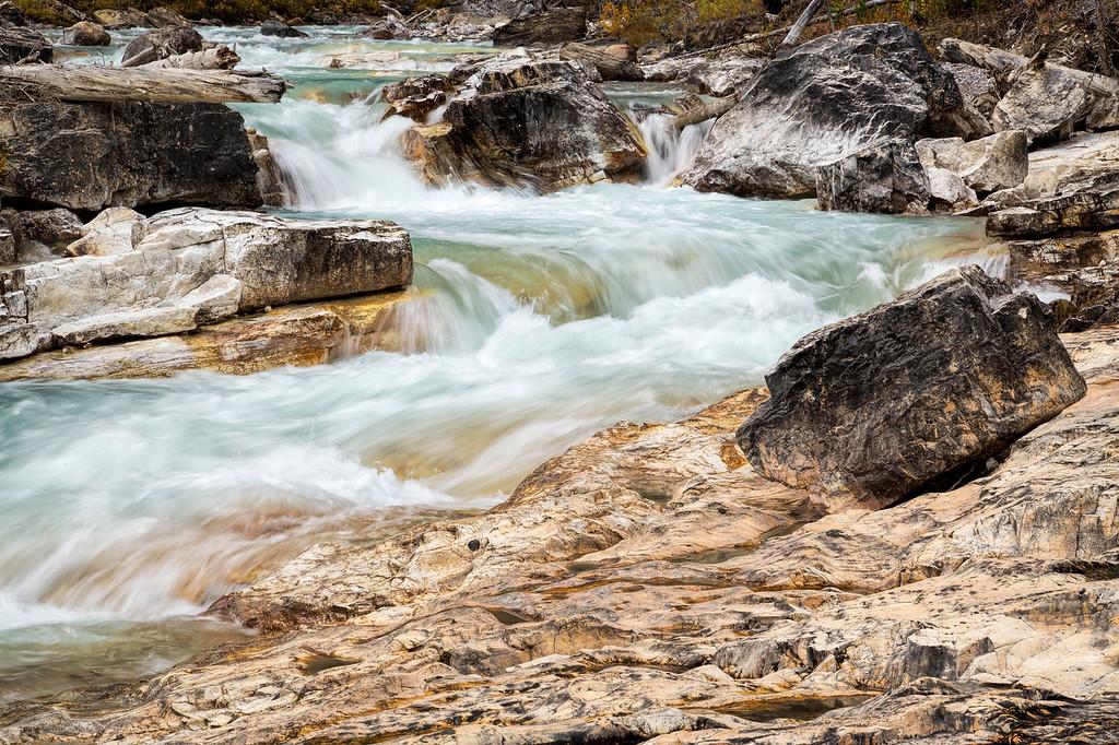 Tokumm Creek, Marble Canyon, Kootenay National Park, British Columbia, Canada