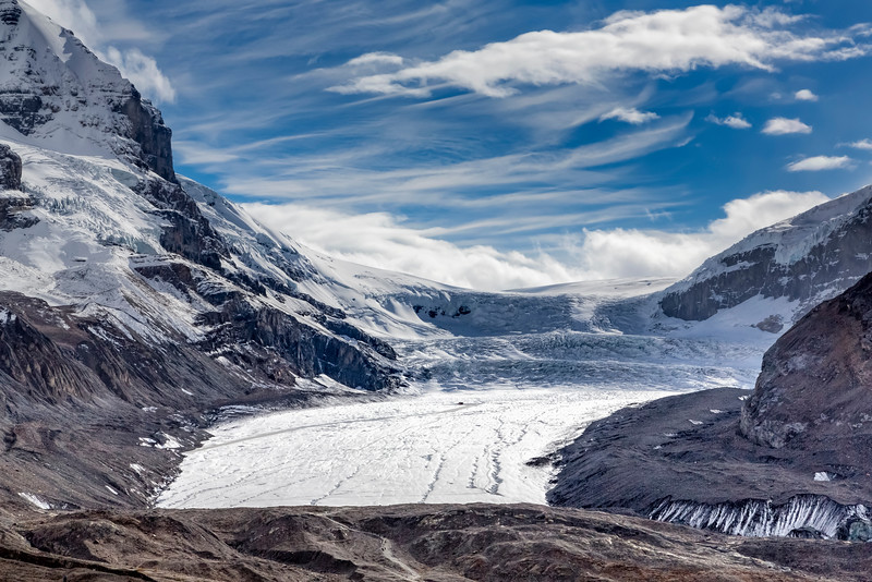 Athabasca Glacier, Columbia Ice Fields, Jasper,National Park, Alberta, Canada