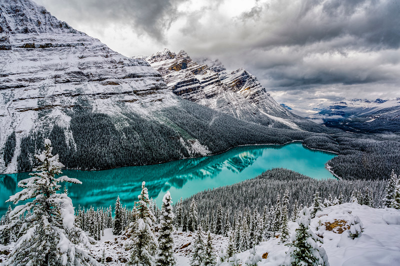Payto Lake, Banff National Park, Alberta, Canada