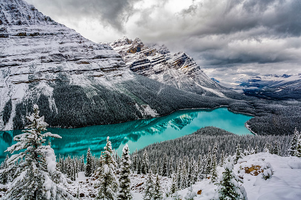 Payto Lake, Banff National Park, Alberta, Canada