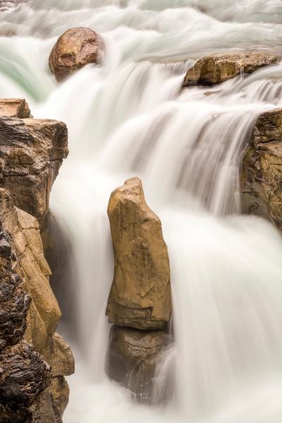 Sunwapta Falls 2, Jasper National Park, Alberta Canada