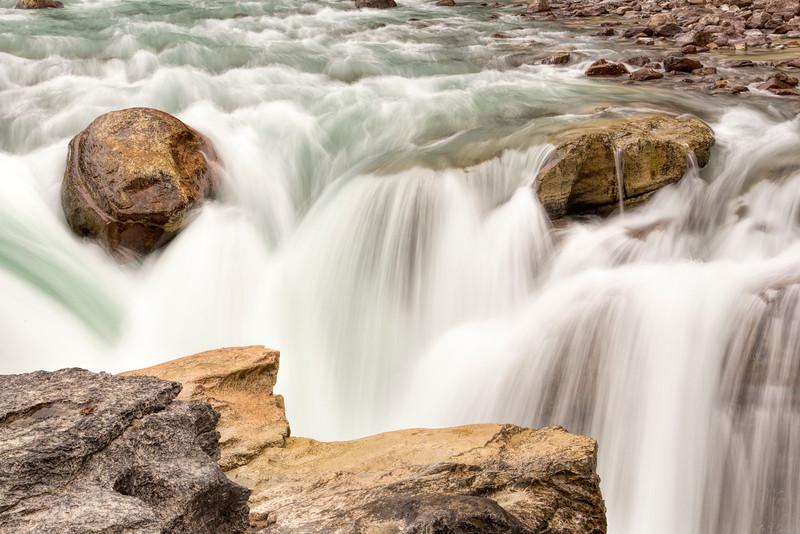 Sunwapta Falls 3, Jasper National Park, Alberta, Canada