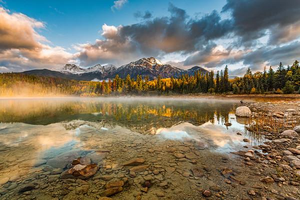 Morning at Patrica Lake