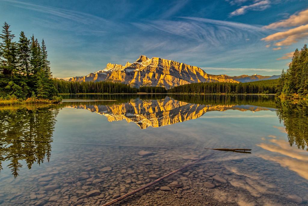 Morning at Two Jacks Lake, Alberta, Canada