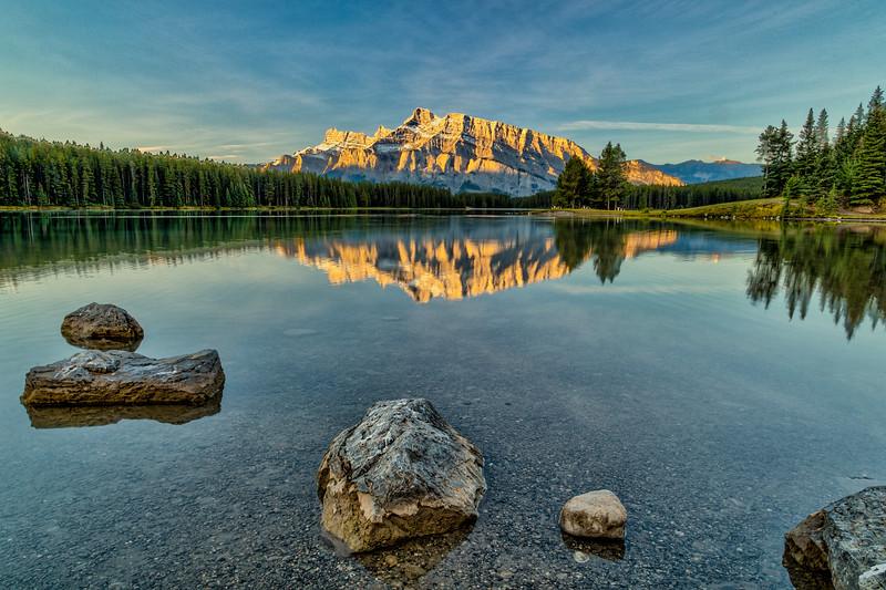 Early Morning at Two Jacks Lake, Banff, ASlberta, Canada 2