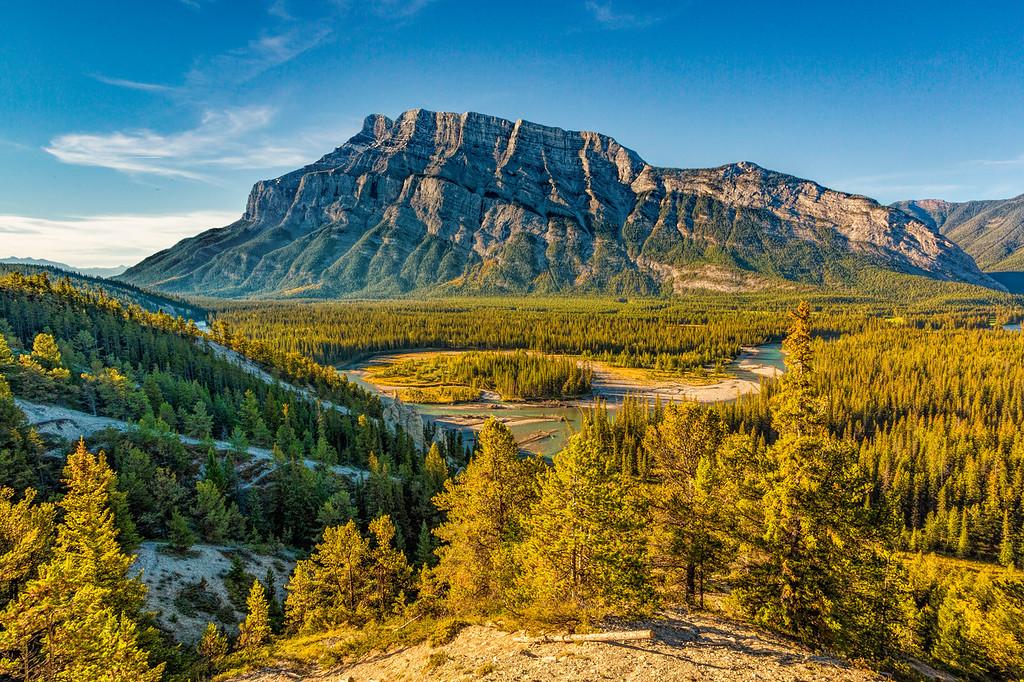 Hoodoos Viewpoint, Banff National Park, Alberta, Canada