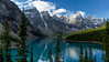 Moraine Lake - Panoramic - Canadian Rockies - Jay Brooks - September 2010