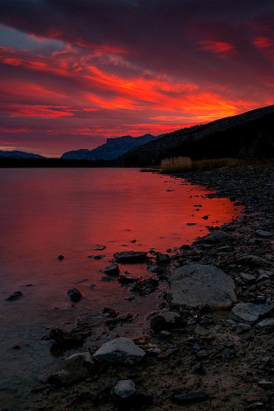 Canadian Sunrise - Canadian Rockies - Carla Farris - October 2010