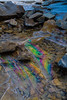 Colored Ice Patterns (effect from circular polarizing filter) - Canadian Rockies - Jay Brooks - September 2010