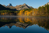 Wedge Pond - HDR image - Canadian Rockies -  Jay Brooks - September - 2010