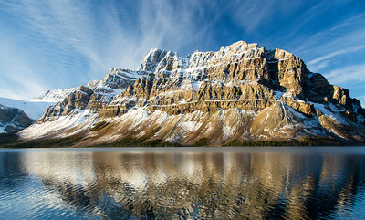Early Morning Brilliance at Bow Lake