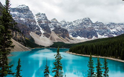 Morraine Lake - Yep, it's that blue