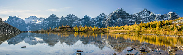 Jagged Peaks and Larches - Simply Lovely