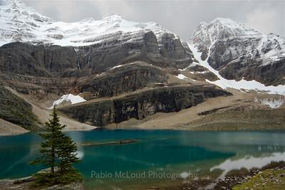 Glacier and Ringrose Peaks = Sweet Serenity