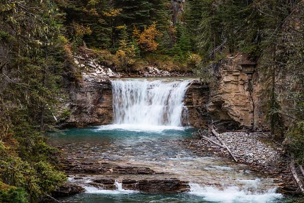 Waterfall in Johnston Canyon 2