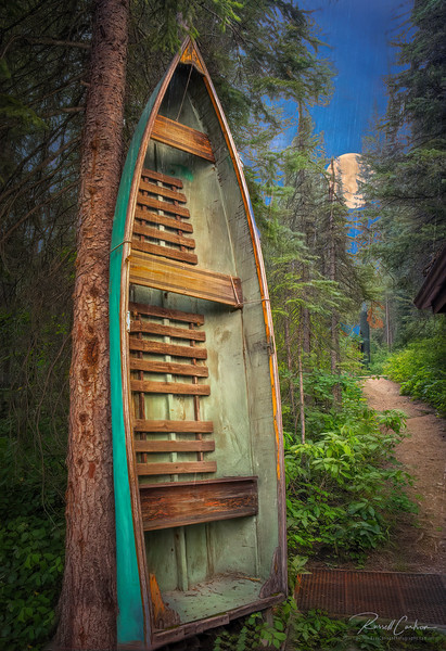 Emerald Lake Rowboat