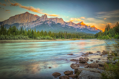 Bow River Sunrise (2)