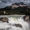 The Athabasca Falls