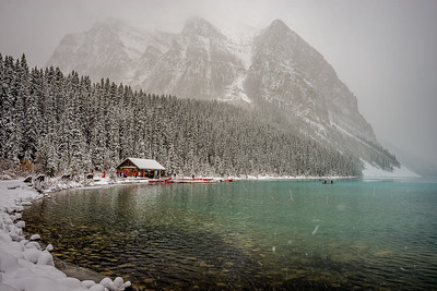 Lake Louise in Snow