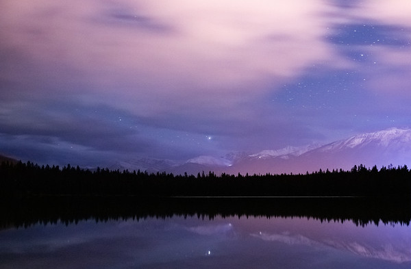 Annette Lake Nightscape