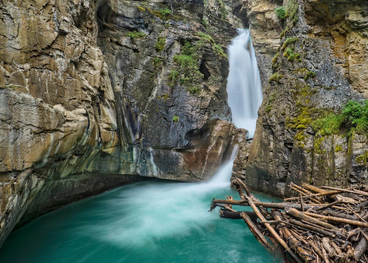 Lower Falls, Johnston Canyon