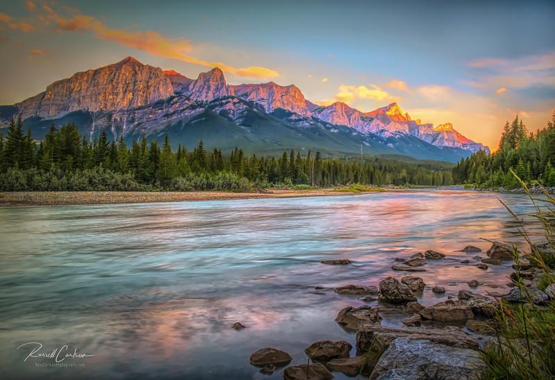 Bow River Sunrise (1)