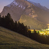 Mt. Rundle at Night