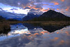 Vermillion Lake Sunrise -Vermillion Lakes near Banff National Park, Alberta, Canada - Sue Cole - October 2014