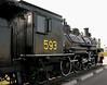 Canadian National No 593, Corner Brook Railway Museum, Newfoundland, 29 September 2005 1