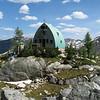 the Conrad Kain hut.