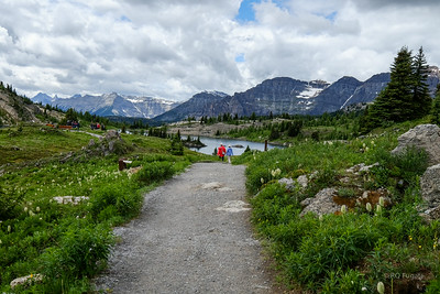Sunshine Meadows and Rock Isle Lake.